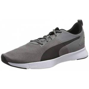 Puma FLYER RUNNER, Unisex Adults' Running Running Shoes, Grey (Charcoal Gray-Puma Black-Blue Turquoise), 7 UK (40.5 EU)