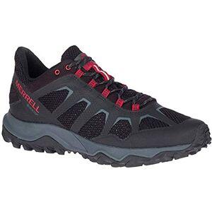 Merrell Men's Fiery GTX Walking Shoe, Black/Cherry, 13 UK