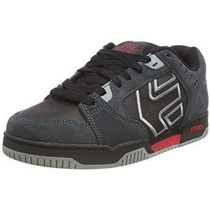 Etnies Men's Metal Mulisha Faze Skate Shoe, Dark Grey/Black/RED, 5 UK