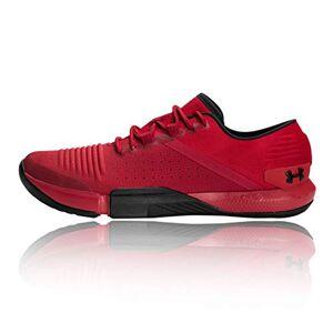 Under Armour Men's UA TriBase Reign Multisport Indoor Shoes, Red (Aruba Red/Black/Black (600) 600), 11 UK 46 EU