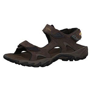 Columbia Men's Santiam 3 Strap Sandals, Brown (Cordovan, Dark Banana 231), 10 UK