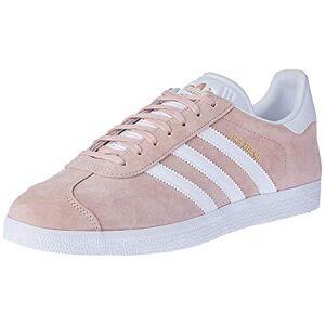 adidas Unisex Adults' Gazelle Gymnastics Shoes, Pink (Vapour Pink/White/Gold Metallic), 10 UK 44 2/3 EU