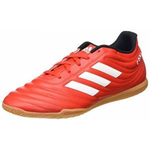 adidas Men's Copa 20.4 in Track Shoe, Active RED/FTWR White/CORE Black, 10 UK
