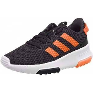 adidas Boys' Cloudfoam Racer Tr K Competition Running Shoes, Black (Cblack/hireor/Carbon), 12 UK Child