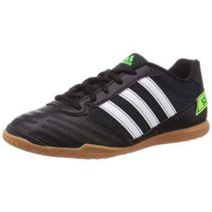 adidas Men's Super Sala 39s Football Sneakers, Green (CORE Black/FTWR White/Solar Green), 10 UK