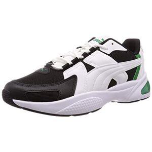 Puma Unisex Adults' Ascend Sneakers, White White Black Amazon Green 03, 5 UK 38 EU