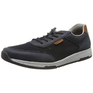 Rieker Men's B9425-14 Low-Top Sneakers, Blue (Lake/Navy/Amaretto 14), 7.5 UK