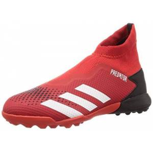 adidas Predator 20.3 Ll Tf, Men's Mens Football Sneakers, Gray (Active Red/Ftwr White/Core Black), 10 UK (44 2/3 EU)