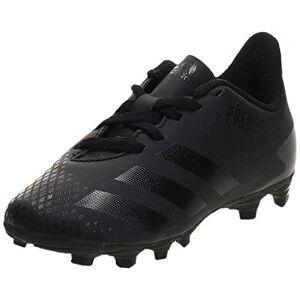 adidas Predator 20.4 Fxg J, Unisex Kid's Track Shoe, Core Black/Core Black/Dgh Solid Gray, 10k UK (28 EU)