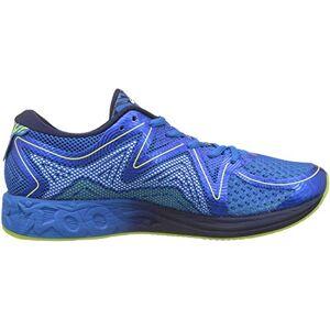 Asics Men's Noosa FF, Men's Running Shoes, Multicolour (Electric Blue/Peacoat/Energy Green), 43.5 EU