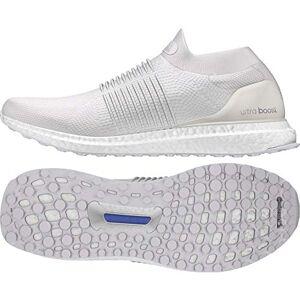 adidas Men's Ultraboost Laceless Running Shoes, Beige (Nondye/Nondye/Nondye Nondye/Nondye/Nondye), 12 UK