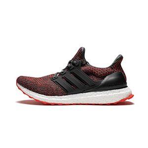 adidas Ultraboost, Men's Running Shoes, Black (Core Black/hi-res Red S18/grey Five F17), 12.5 UK (48 EU)