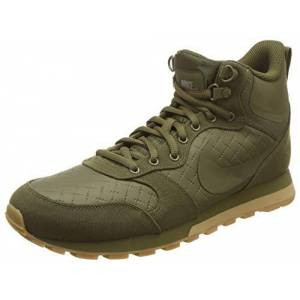 Nike Men's Runner 2 Mid Premium Running Shoes, Green Olive Canvas Olive Canvas 300, 8 UK
