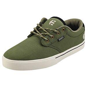 Etnies Men's Jameson 2 Eco Skateboarding Shoes, Green (Olive/Black 302), 10 UK (44.5 EU)