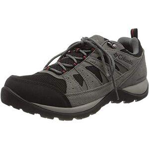 Columbia Men's Redmond V2 Waterproof Hiking Shoe, Black Rocket, 6 UK
