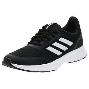 adidas Nova Flow Men's Running Shoes, Core Black/Ftwr White/Grey Six, 10 UK (44 2/3 EU)
