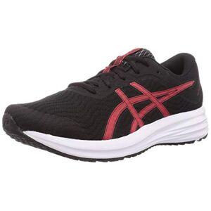 Asics Patriot 12, Men's Running Shoes, Black/Classic Red, 10 UK (45 EU)