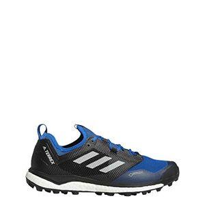 adidas Men's Terrex Agravic XT GTX Trail Running Shoes, Blue Belazu Gricin Negbás 000, 8.5 UK