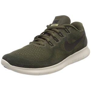 Nike Women's Free RN 2017 Training Shoes, Green (Cargo Khaki/Black-Sequoia-Neutral Olive 301), 4 UK 37.5 EU