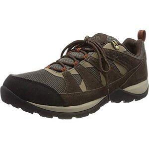 Columbia Men's Redmond V2 Waterproof Hiking Shoe, Mud Dark Adobe, 6 UK