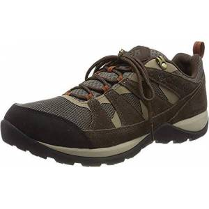 Columbia Men's Redmond V2 Waterproof Hiking Shoe, Mud Dark Adobe, 6 UK