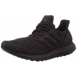 adidas UltraBOOST, Men's Running Shoe, Core Black Core Black Active Red, 10 UK (44 2/3 EU)