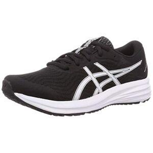 Asics Patriot 12, Men's Running Shoes, Black/White, 7 UK (41.5 EU)