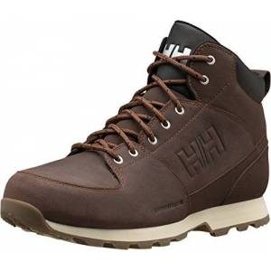 Helly Hansen Men's Tsuga High Rise Hiking Shoes, Brown (Brunette/Jet Black/NAT 708), 11.5 UK (46.5 EU)