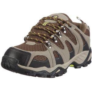 Ultrasport Hiker Unisex Adult Outdoor - Trekking - Hiking - Nordic Walking Shoes, Green (Olivegreen / brown 140), 37 EU, (4 UK)