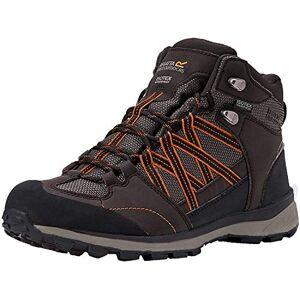 Regatta Men's Samaris Mid II High Rise Hiking Boots, Brown (Peat/Gldflme 5ta), 12 UK (47 EU)