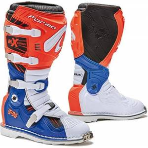 Forc350-16981142 FORMA Terrain TX CE Approved Motorcycle Boots Orange/White/Blue