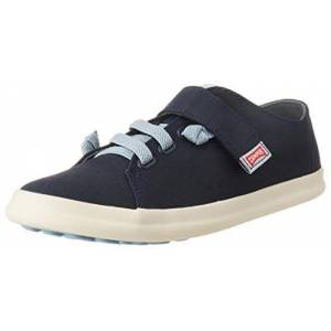 Camper Boys' Pursuit Kids Low-Top Sneakers, Blue (Navy 410), 2.5 UK
