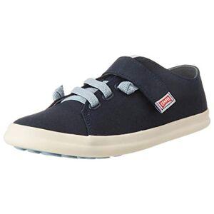 Camper Boys' Pursuit Kids Low-Top Sneakers, Blue (Navy 410), 2.5 UK