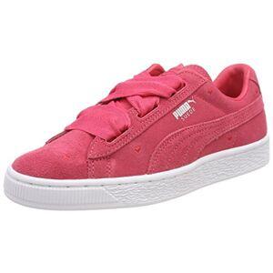 Puma Girls Suede Heart Jr 365135-01 Low-Top Sneakers, Paradise Pink-Paradise Pink, 5 UK