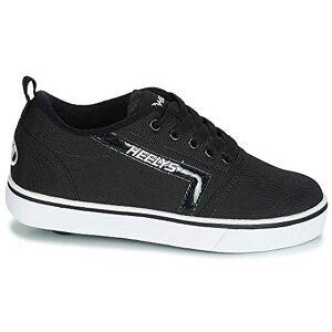 Heelys Unisex Kids' GR8 Pro (he100584) Skateboarding Shoes, Multicolour (Black/White Rip Stop 000), 13 UK