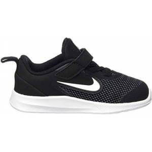 Nike Unisex Kids' Downshifter 9 Gymnastics Shoes, Black/White/Anthracite/Cool Gray, 8.5 UK