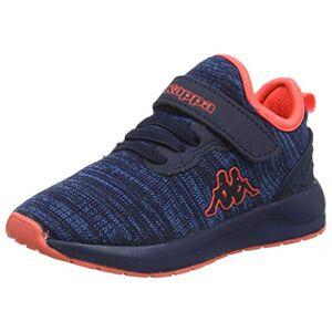 Kappa Unisex Kids' Paras Ml Oc Low-Top Sneakers, (Navy/Orange 6744), 7.5 UK