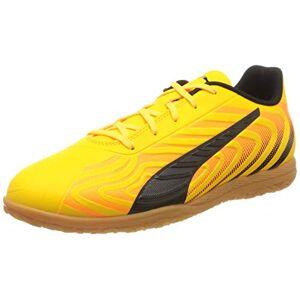 Puma Kids' One 20.4 It Jr Football Boots, Yellow (Ultra Yellow Black-Orange Alert-Gum 03), 1.5 UK 34 EU