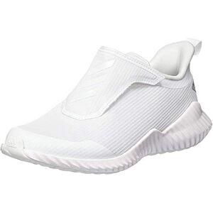 adidas Unisex Kids' Fortarun Road Running Shoe, Footwear White/Footwear White/Grey, 10 UK
