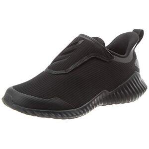 adidas Unisex Kids' Fortarun Road Running Shoe, Core Black/Core Black/Solid Grey, 5.5 UK
