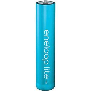 Panasonic eneloop Lite Nickel-Metal Hydride Battery 950mAh Rechargeable Battery (950mAh Nickel-Metal Hydride Batteries, AA, Blue, 2)