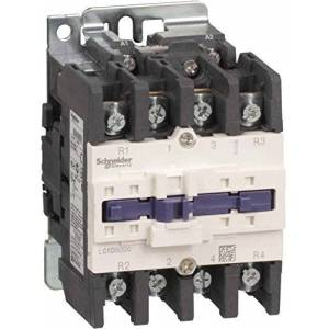 Schneider Electric lc1d80004p7TeSys D Contactor, 4P, 4NA, 440V AC-1, 125A, Coil 230VAC, 50/60Hz