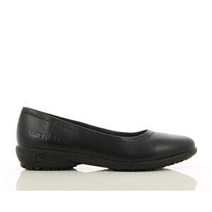 Julia Oxypas 'Julia' Lightweight Elegant Professional Court Shoe with Anti-Static ESD, and SRC Slip Resistance (42 EU, Black)