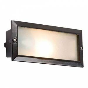 Knightsbridge MLA BL01BK - 40WAluminium Base Bricklight Unit - Black Cover