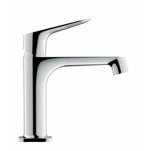Axor 34010000 Citterio M Basin Tap 100 with pop-up Waste Manual Mixers, Chrome, 10 cm spout Height
