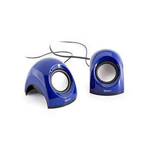 White Shark WS-SP-092BL SBOX USB Stereo Speaker - Blue