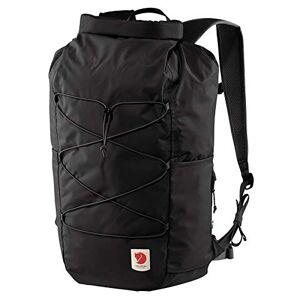 FJALLRAVEN Unisex_Adult High Coast Rolltop 26 Daypack, Black, one size