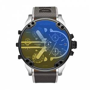 Fossil Group Diesel Mr. Daddy 2.0 Chronograph Black Nylon Watch