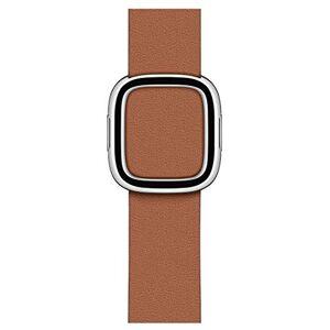Apple Watch Modern Buckle (40mm) - Saddle Brown - Medium