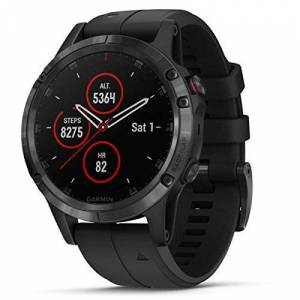 Garmin Smartwatch Fenix 5 Plus/SAP/Black 010-01988-01 Garmin